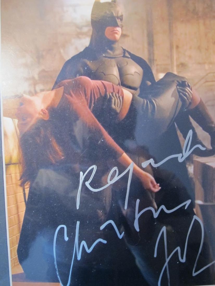 Christian Bale Katie Holmes Batman Begins