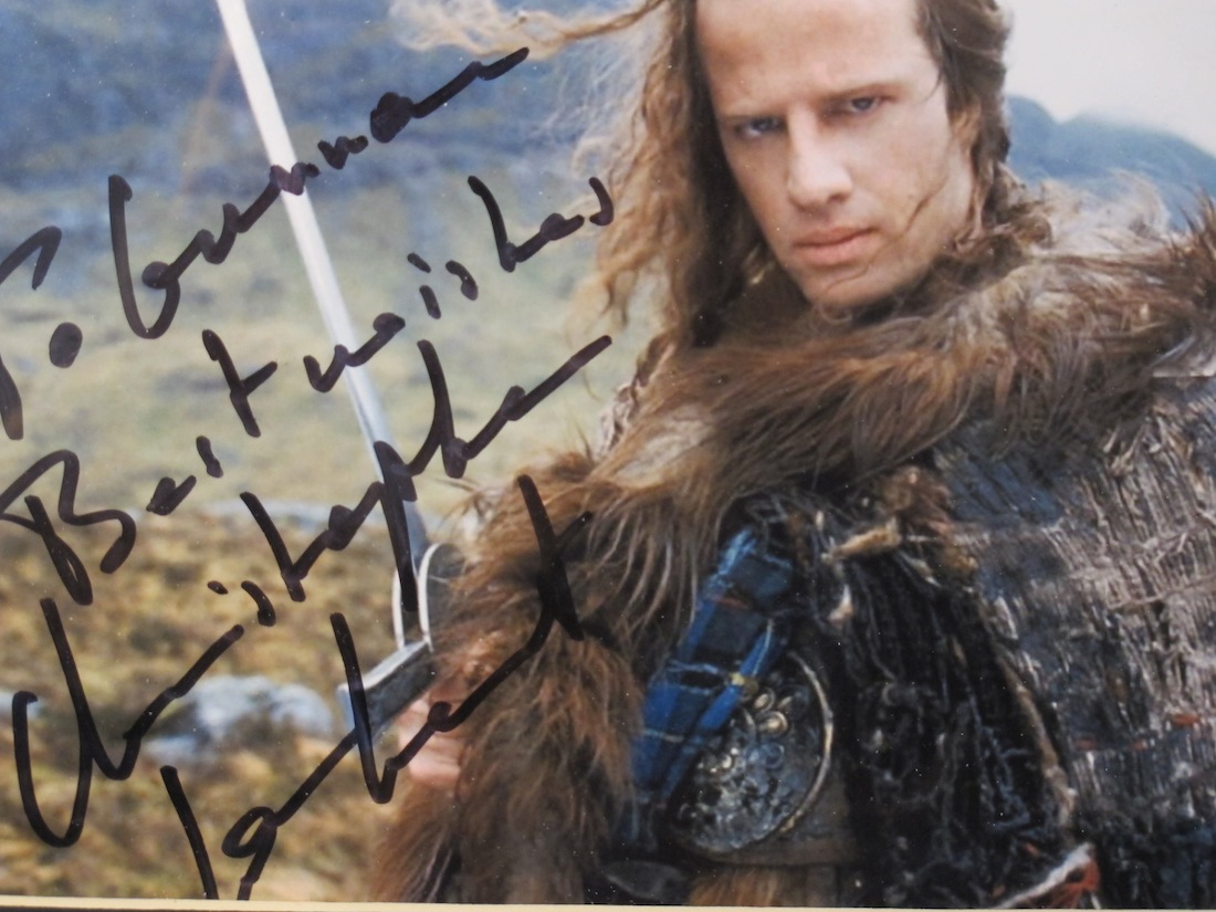 Christopher Lambert Highlander