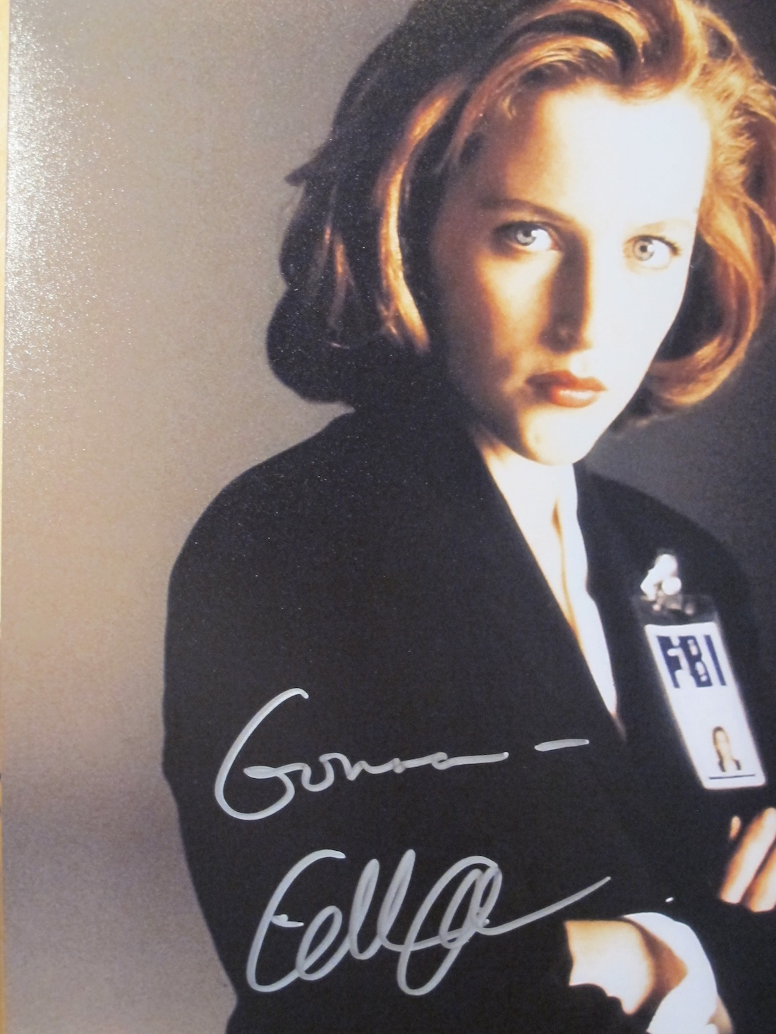 Gillian Anderson X Files
