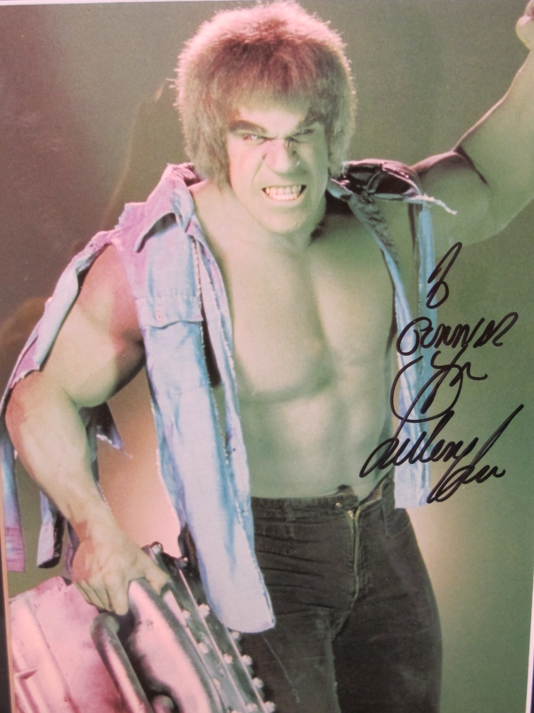 Lou Ferrigno The Hulk