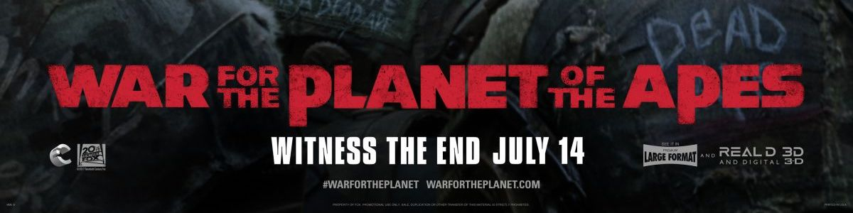 War for the Planet of the Apes Recension GGGG- (inkl video)