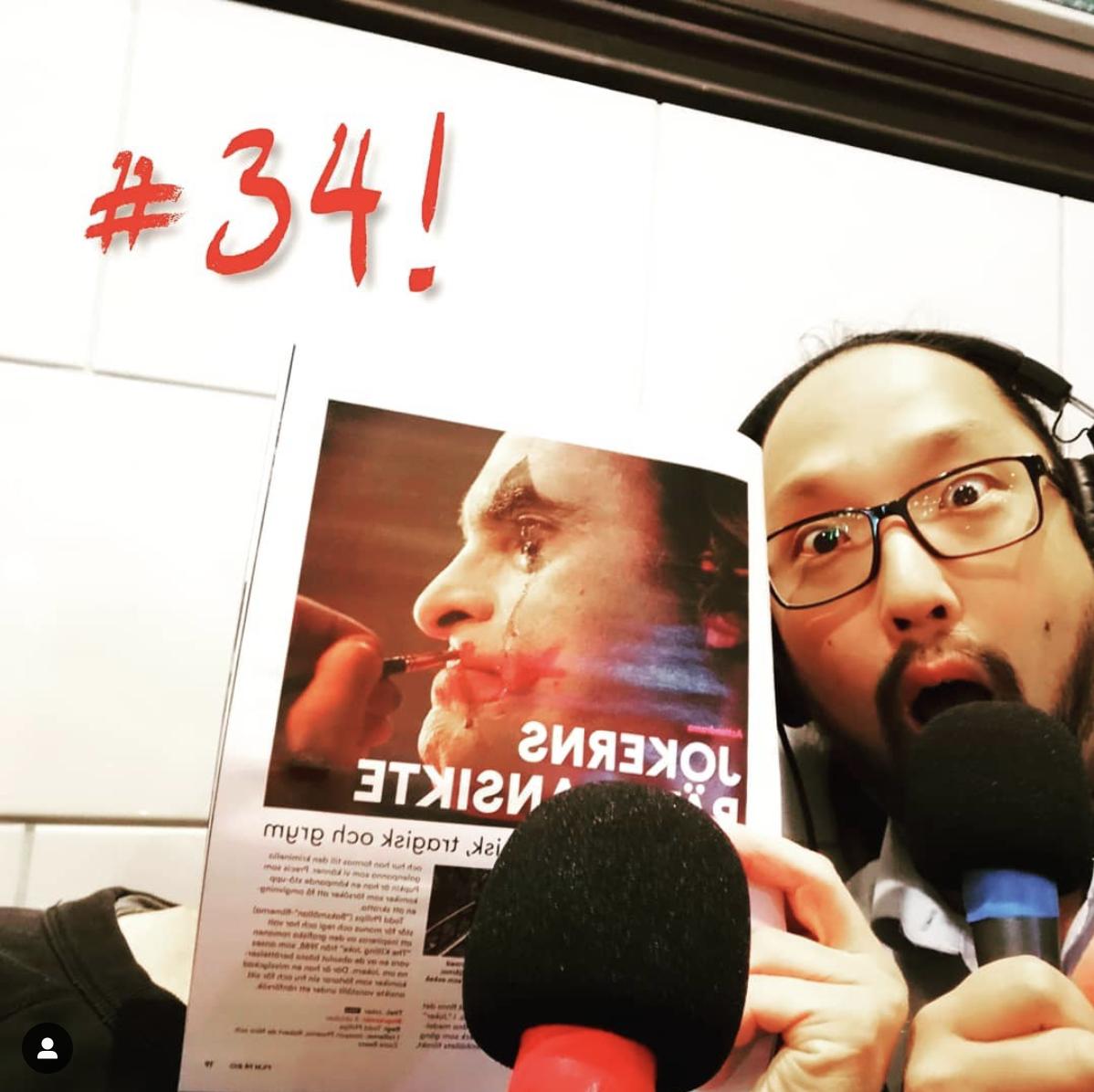 #34 – Direkt efter Biobesöket – Joker med Gustav K inkl SPOILERS!!!